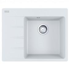 Мойка кухонная Franke Centro CNG 611-62 TL (114.0630.449) белый, 620х500 мм.