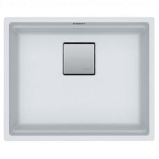 Мойка кухонная Franke Kubus 2 KNG 110-52 (125.0517.046) белый, 560x460 мм.