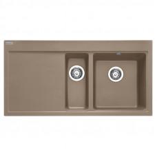 Мойка кухонная Franke Mythos MTG 651-100 (114.0594.810) миндаль шоколад, 1000х515 мм.