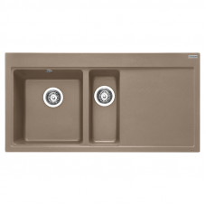 Мойка кухонная Franke Mythos MTG 651-100 (114.0594.821) миндаль шоколад, 1000х515 мм.