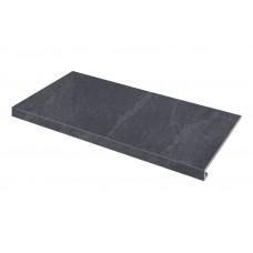 Ступенька угловая левая SZRXST9BRR1 Slate Black 345-35x600x9,2 Zeus Ceramica