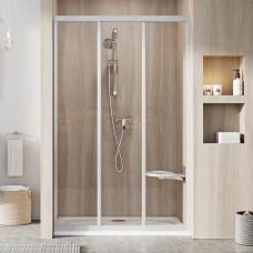 Душевые двери трехэлементные ASDP3-100 195 Transparent, (00VA0UO2Z1) RAVAK